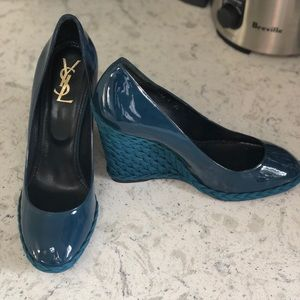 YSL wedges size 39, runs small.